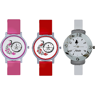 True Choice Awosome Independence  Combo Analog Watch For Girls
