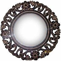 Beautifully Carved Mirror Frame Cum Key Hanger