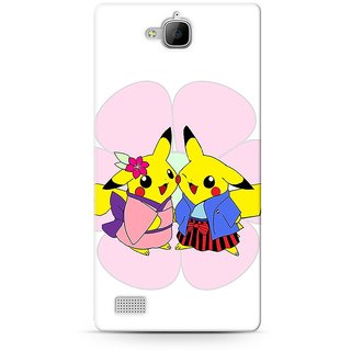 Graphic Hub Hard Back Case Cover For Huawei Honor 3C