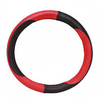 Lowernce - SUPER GRIP Car Steering Cover red black For- all cars