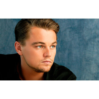 MYIMAGE Hollywood Star Leonardo DiCaprio Digital Printing  Poster (12.0 inch x 18.0 inch)