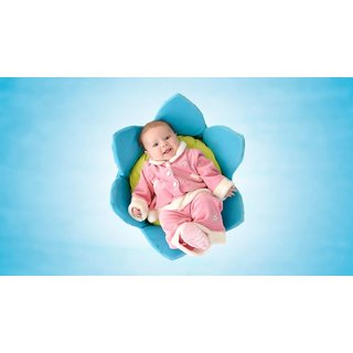 MYIMAGE Adorable Cute Baby Poster (Paper Print, 12x18 inch)