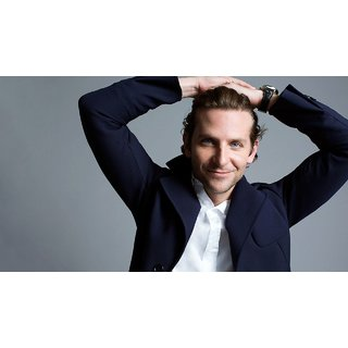 MYIMAGE Hollywood Star Bradley Cooper Digital Printing  Poster (12.0 inch x 18.0 inch)