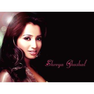 MYIMAGE Shreya Ghoshal Digital Printing  Poster (12.0 inch x 18.0 inch)
