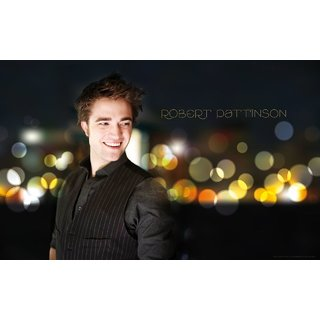 MYIMAGE Hollywood Star Robert Pattinson Digital Printing  Poster (12.0 inch x 18.0 inch)