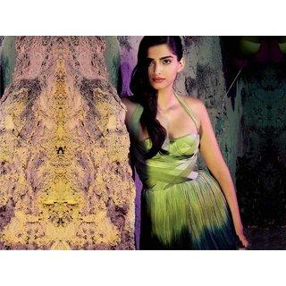 MYIMAGE Bollywood Actress Sonam Kapoor Digital Printing  Poster (12.0 inch x 18.0 inch)