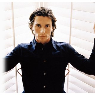 MYIMAGE Hollywood Star Christian Bale Digital Printing  Poster (12.0 inch x 18.0 inch)