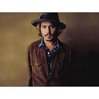 MYIMAGE Hollywood Star Johnny Depp Digital Printing  Poster (12.0 inch x 18.0 inch)