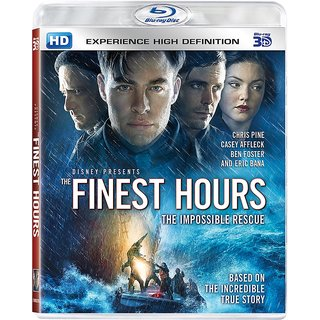 THE FINEST HOURS- 3D BD