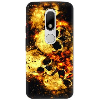 Motorola Moto M Printed Back Cover By CareFone