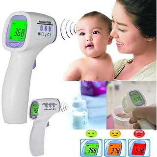 Non Contact Infrared Multipurpose Thermometer - No Need To Touch-Wireless