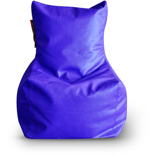 Home Story Chair Bean Bag L Size Royal Blue Color Cover Only