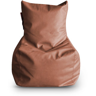 Home Story Chair Bean Bag L Size Tan Color Cover Only