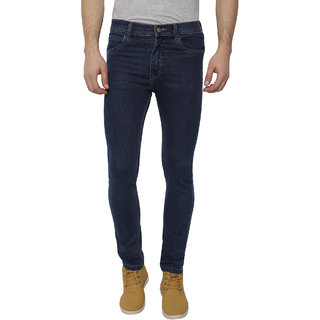 INSPIRE DARK BLUE SLIM FIT MEN'S JEANS