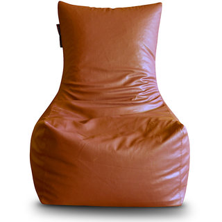 Home Story Chair Bean Bag XXL Size Tan Color Cover Only
