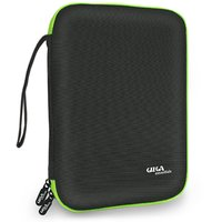 Gizga Essentials Gadget izer Case, Portable Zippered Pouch For All Small Gadgets,HDD,,USB Cables (Black)