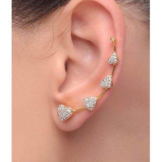 Jewels Gehna Alloy Heart Conful Trendy Classic Earrings Set For Women  Girls