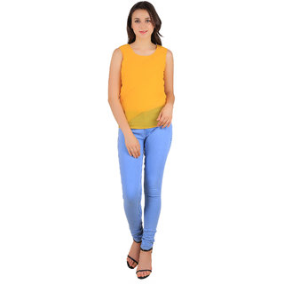 New Fashion Life Style Fashionable Gold Glass Button Top