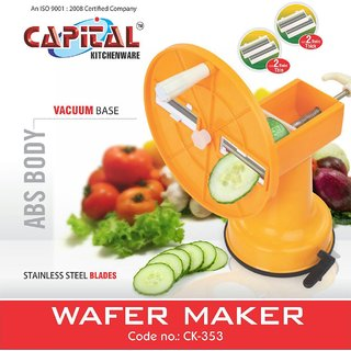 ABS Potato Slicer and Wafer Maker easy to use