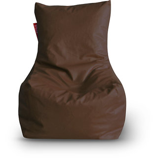 Home Story Chair Bean Bag XL Size Brown Color Cover Only
