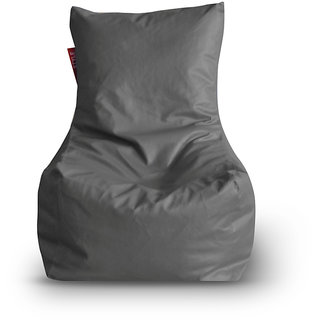 Home Story Chair Bean Bag XL Size Grey Color Cover Only