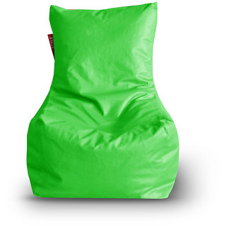 Home Story Chair Bean Bag XL Size Green Color Cover Only