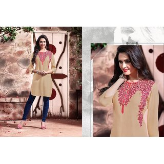 Embroidery fully stichhed kurti