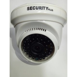 Security Plus Dome 1 m.p. 3.6MM Lens AHD DVR Support