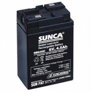 SUNCA 6V 4.5Ah Sealed Lead Acid Rechargable Battery For UPS Emergency Light TOYS