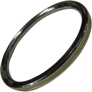 Steel With Panchalogam Bangle Panchaloha ( 5 Metals Panchadhatu) - A4406