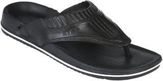 Groofer  Men's Black Slippers