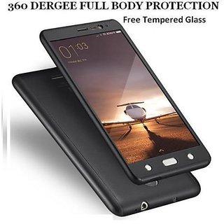360 Degree Case One Plus 3 / 3T  Matte Hard (Black)