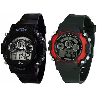 Sports Digital Pack of 2 Watch for Boys  Kids