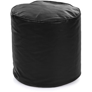 Home Story Round Ottoman L Size Black Cover Only