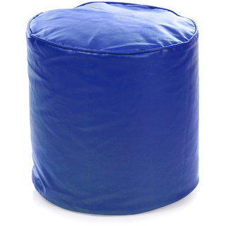 Home Story Round Ottoman L Size Royal Blue Cover Only