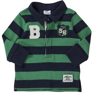 Boys Collar Stripe Tshirt(Design 1)