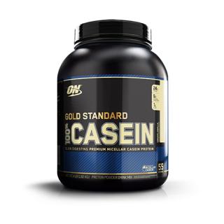 Optimum Nutrition 100 Casein Protein - 4 Lbs (Creamy Vannila)