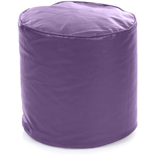 Home Story Round Ottoman L Size Purple Cover Only
