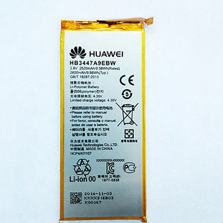 Huawei Ascend P8 Li Ion Polymer Internal Replacement Battery  HB3447A9EBW 2660 mAh 3.8V