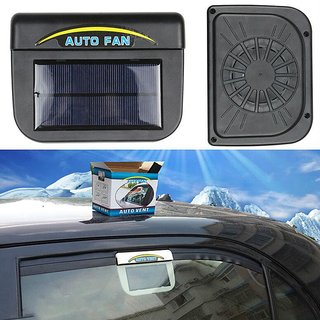 Car Accessories Auto Cool Ventilation Universal Car Fan Solar Powered Exhaust System