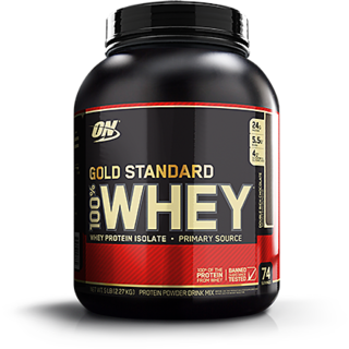 Optimum Nutrition  ON  100% Whey Gold Standard   5 lbs  Double Rich Chocolate  Whey Protein