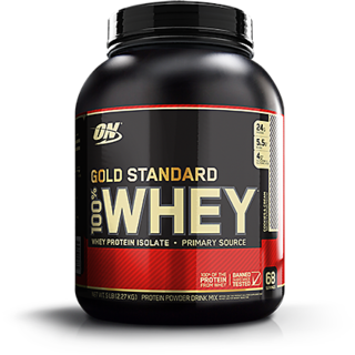 Optimum Nutrition 100 Whey Gold Standard - 5 Lbs (Cookie And Cream)