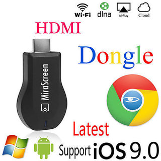 Buy Anycast WiFi Display Receiver AV Dongle DLNA Airplay Miracast HDMI  Online - Get 26% Off
