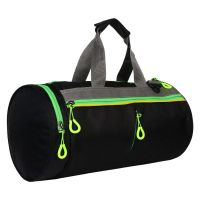 Panther Multi Compartment Black Colored Duffel/Gym Bag