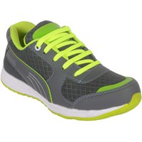 Jokatoo Kids Energy  Grey and Green Running Sports Shoes