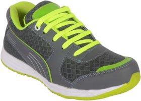 Jokatoo Kids Energy  Grey and Green Running Sports Shoes
