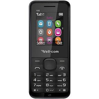 Vell-com Atom Heavy Battery Dual Sim Mobile Phone