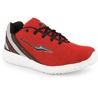 Smartwood Jaisco Mens Black Red Sport Running Shoes