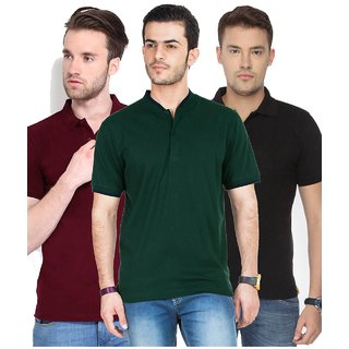 Concepts Pack Of 3 Polo Tshirts