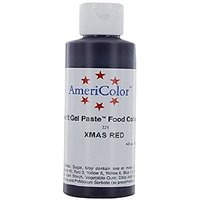 Americolor Soft Gel Paste Food Color, Christmas Red (Wa